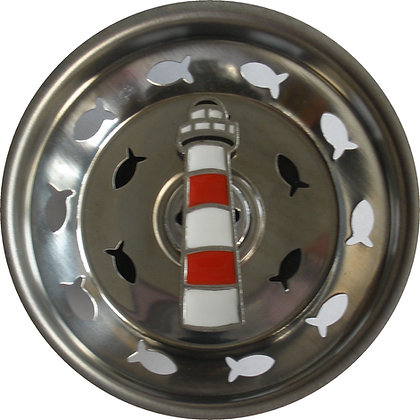 """Light House"" Sink Stopper"