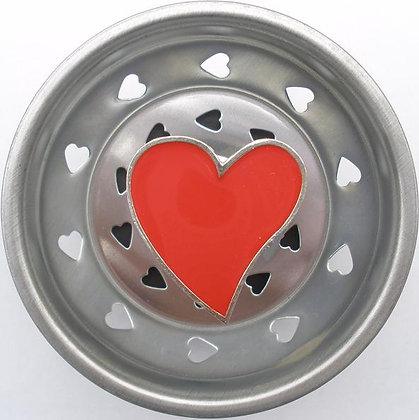 """""""Heart"""" Sink Stopper"""
