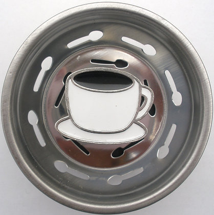 """""""Coffee Cup"""" Sink Stopper"""