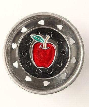 """""""Apple"""" Sink Stopper"""