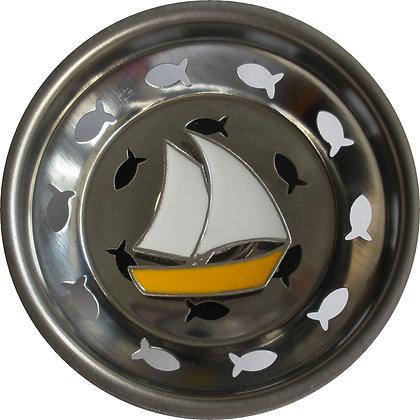 """Sailboat"" Sink Stopper"