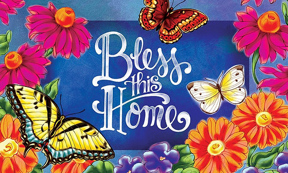 Bless This Home Indoor/Outdoor Mat
