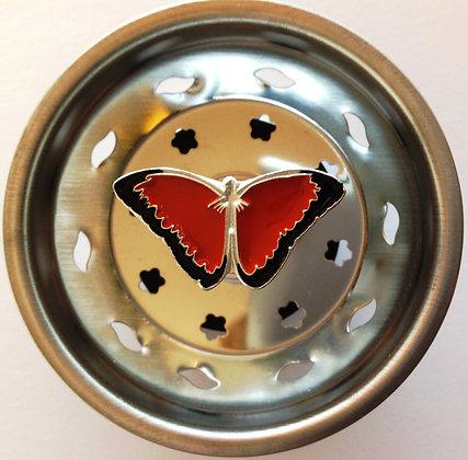 """""""Butterfly"""" Sink Stopper"""