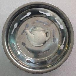 """""""White Teapot"""" Sink Stopper"""