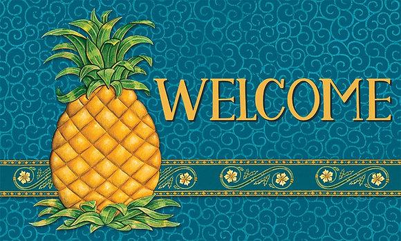 Pineapple Welcome Indoor/Outdoor Mat