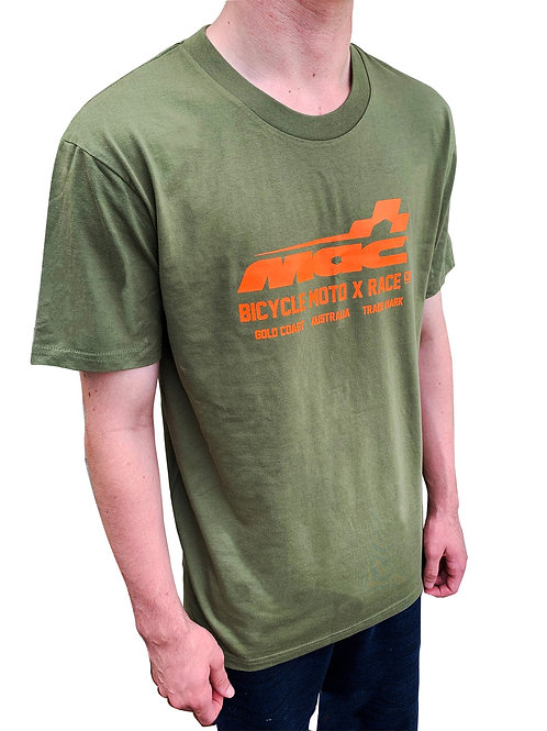 Mac Moto Tee Camo|Orange