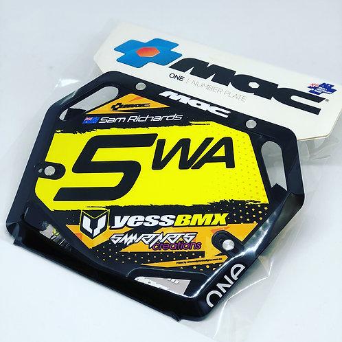 Mac Custom Plate