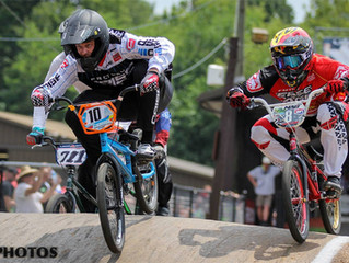 Podium results at Midwest Nats for Anderson.