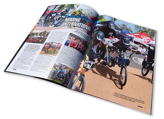 Crisp ProAm BMX Magazine printed in full colour