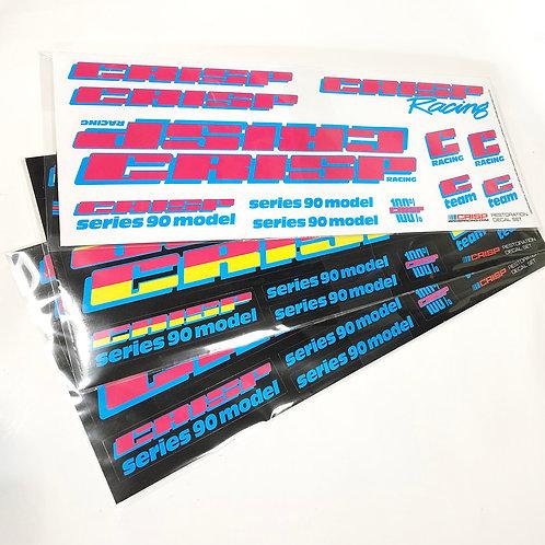 Gen 2 90's Vinyl Decal Sets
