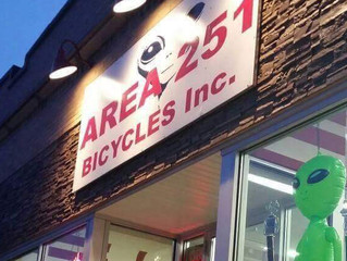 Crisp Lands at Area 251 Bicycles.