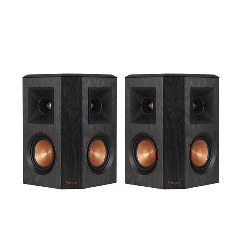 """Klipsch RP-402S Dual 4"""" Surround Sound Speaker Black - Pair"""