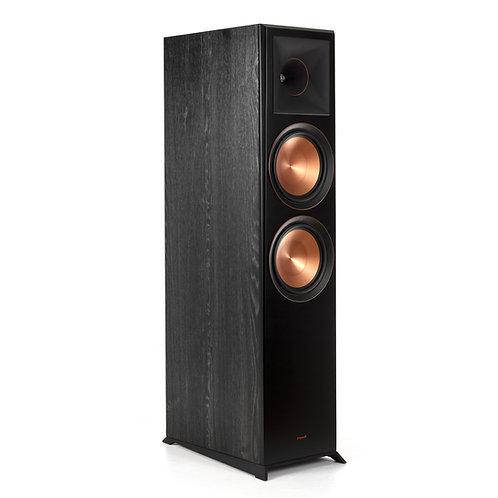 "Klipsch RP-8000F Dual 8"" Floorstanding Speaker Black Each"