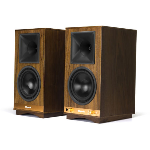Klipsch The Sixes Powered Bookshelf Speakers - Pair