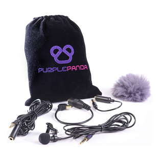 Purple Panda Lav Mic