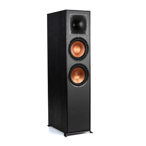 "Klipsch Reference R-820F Floorstanding Speaker dual 8"" Each"