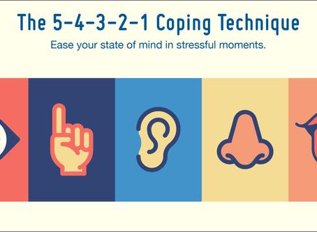 The 5-4-3-2-1 Mindfulness Trick