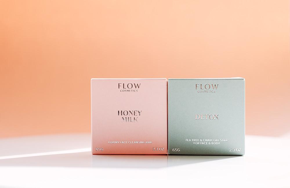 Koti Lifestyle | Flow Cosmetics honey milks and detox facial soaps