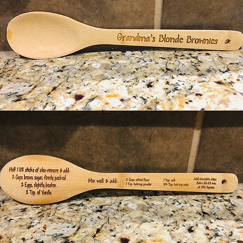 Custom Wooden Spoon