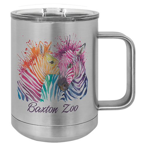 15 OUNCE SUBLIMATED COFFEE MUG