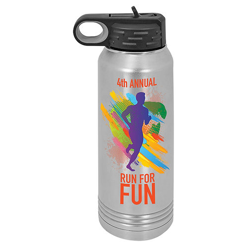 32 OUNCE STAINLESS STEEL WATER BOTTLE SUBLIMATION