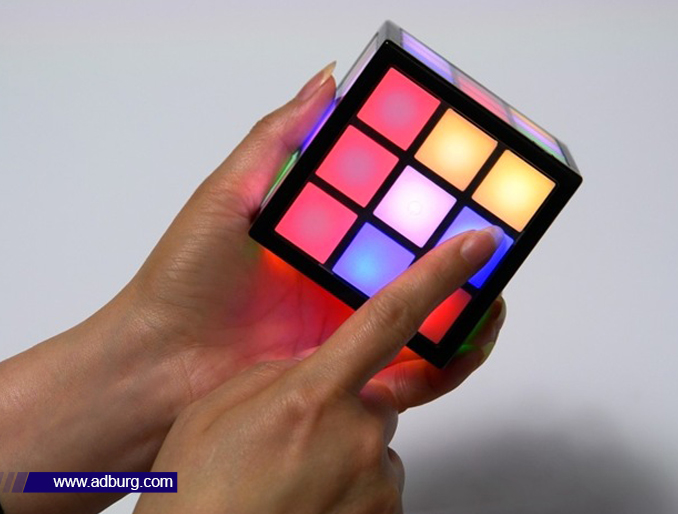 Touch Sensitive Rubik's Cube