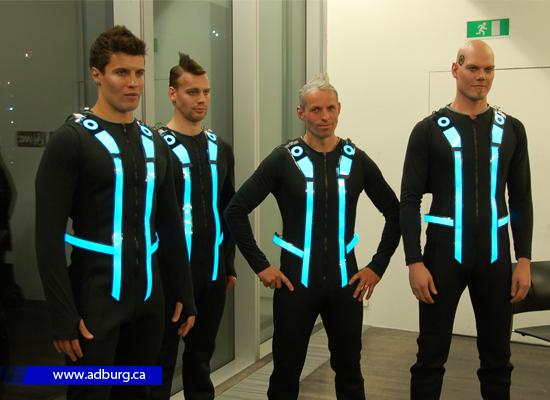 Design EL flashing Safety vest