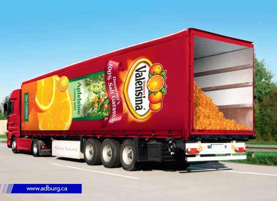 Illusion Truck Advertising