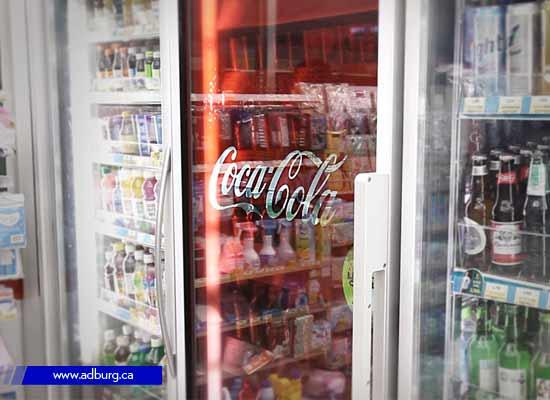 LCD Transparent Fridge Door