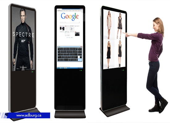 Stand alone touch screen
