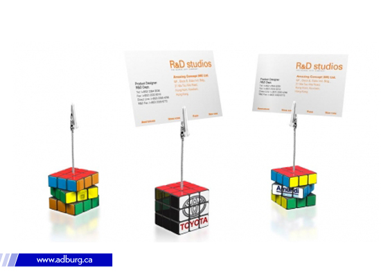 Rubik Note Holder