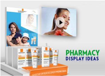 Special Operations concerning pharmacies from stands and Display and new advertising Ideas, Creative Display Supplier in Lebanon, Montreal