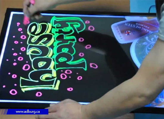 LED Writing Sign Board