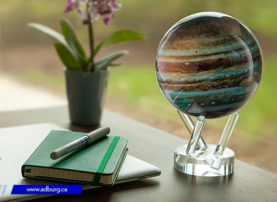 Self Rotating Globe
