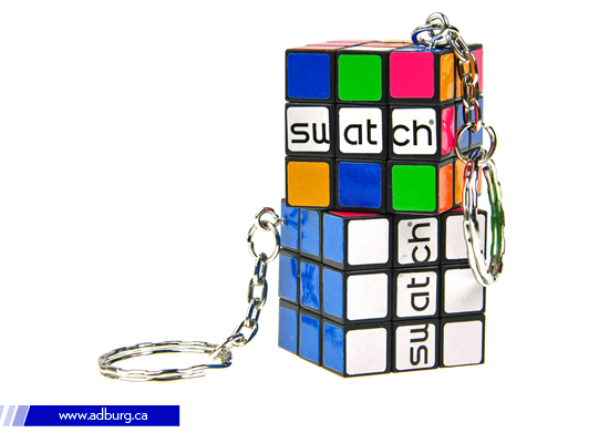Promotional Rubik Key chain
