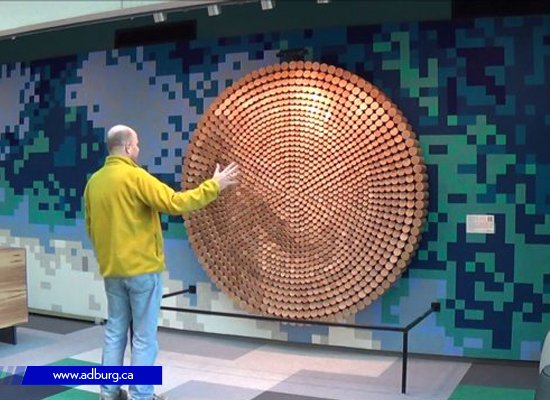 Interactive Wood Mirror