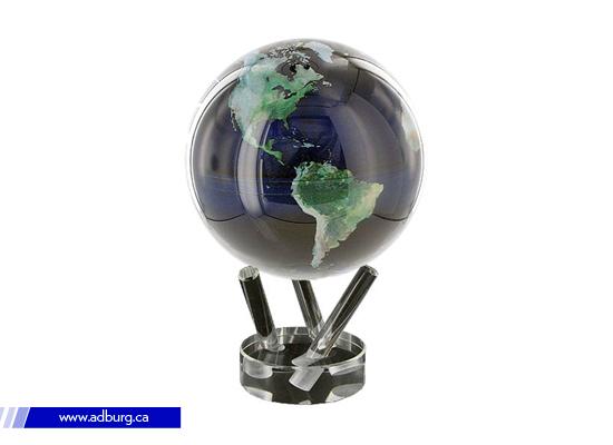 Magic Rotating Earth