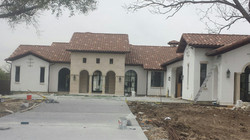 Tile Roof with Stucco Exterior