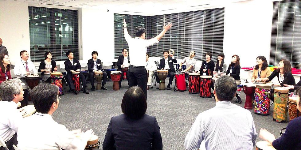 【5月17日(日)】音とリズムでチームを活性化!「トレーニングビート®」体験会