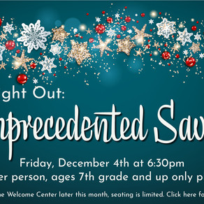 Unprecedented Savior Ladies Event