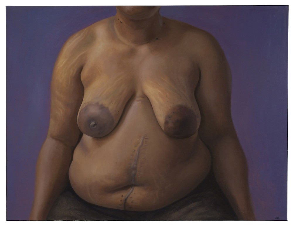"Clarity Haynes; Gwen; 2010, Oil on Linen, 58"" x 76"""