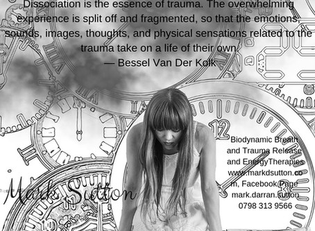 Dissociation is the Essence of Trauma