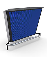 Portable Bar Barlok 5 foot straight corner section