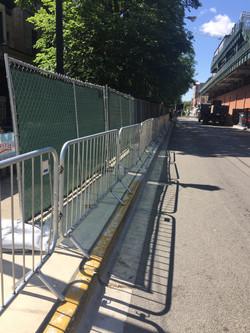 Pedestrian Barricades from EER