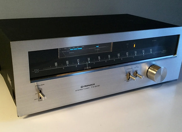 Tuner PIONEER TX-608 - période bleue