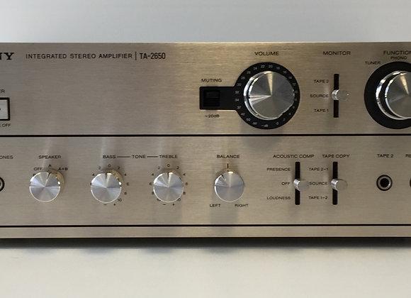 Amplificateur SONY TA-2650