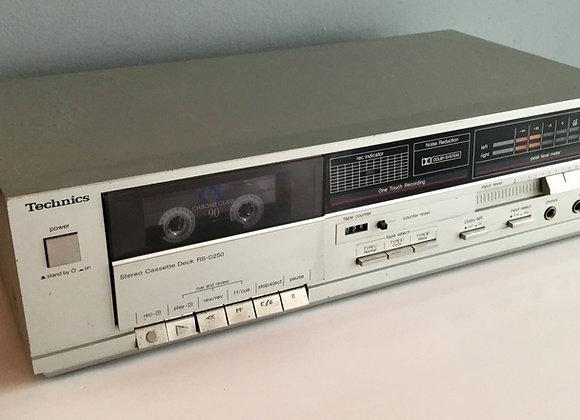 Platine cassette TECHNICS RS-D250