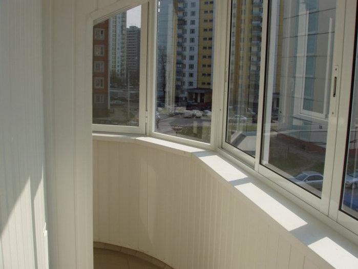 Застеклить балкон цена в смоленске радиусное остекление балкон