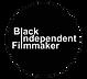 Black Indpendent Filmmaker Button Sticker (Black).png