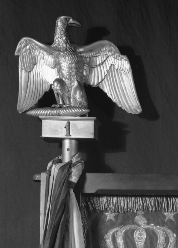 French Imperial Eagle Finial